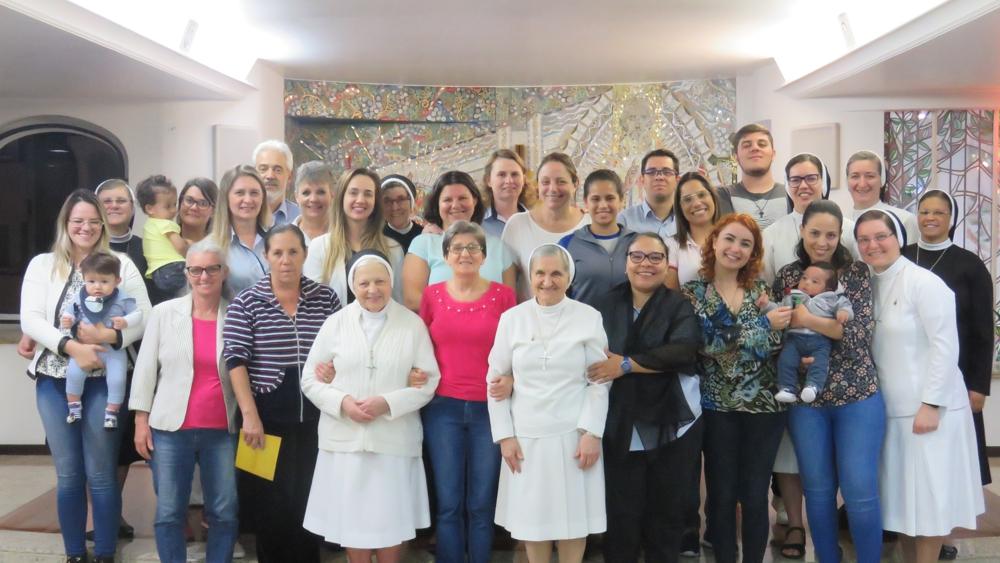 Celebração de Páscoa na Sede Provincial