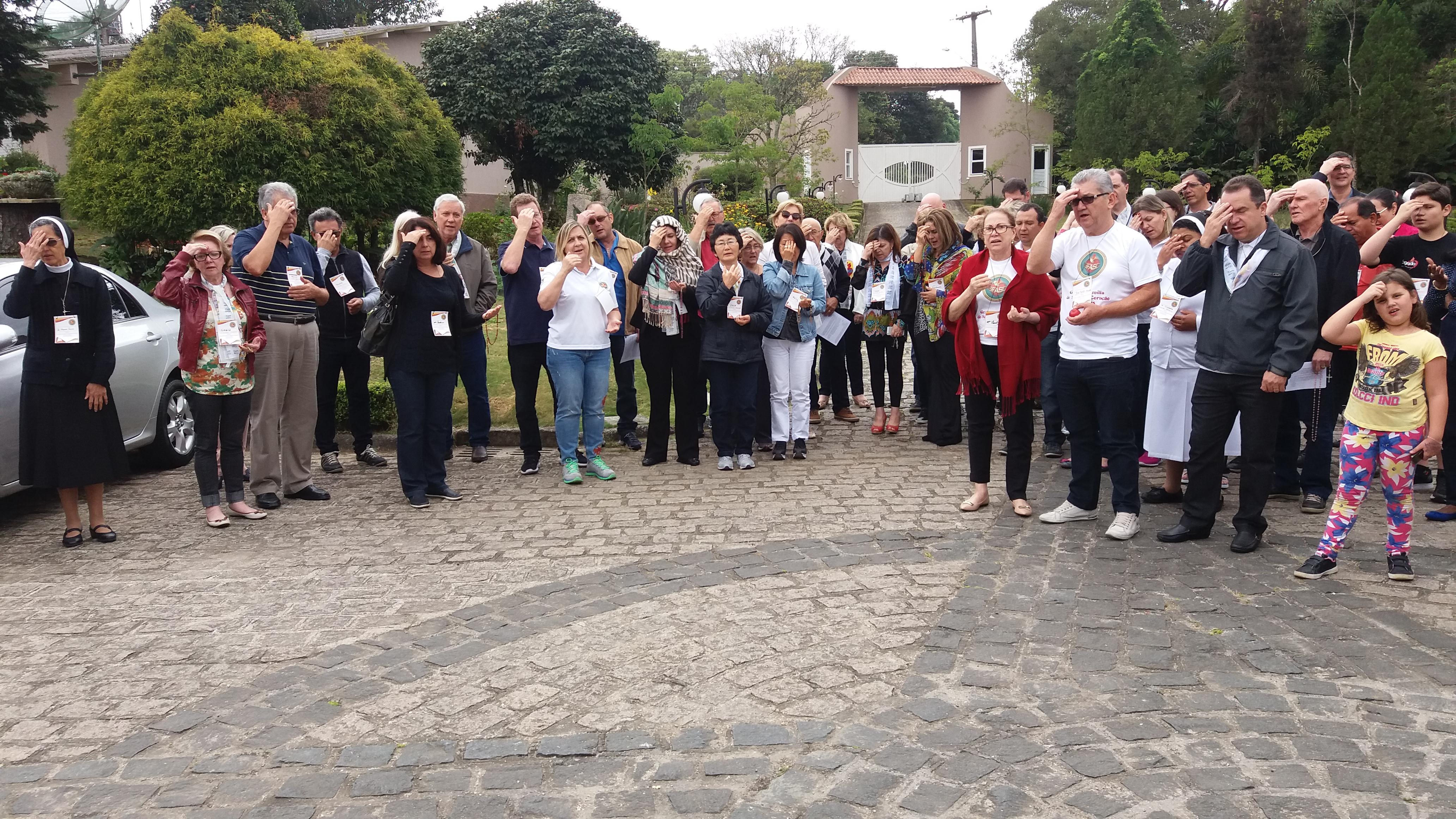 GFASC de Curitiba e Região Participam de Retiro