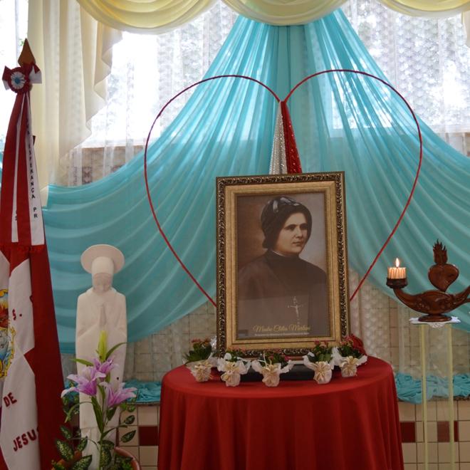 Celebrando o Nascimento de Madre Clélia em Nova Esperança - Paraná