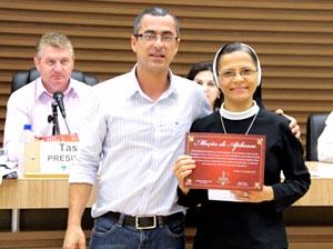 Irmãs Apóstolas recebem homenagem da Câmera de Vereadores de Pato Branco