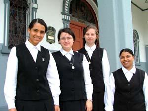 Noviças preparam-se para os Votos Religiosos