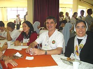 GFASC participa de Encontro de Leigos