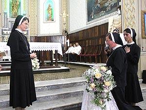 Irmã Emilia Renata Buba professou os Votos Religiosos em perpétuo