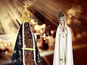 Continuam as celebrações a Nossa Senhora Aparecida e de Fátima
