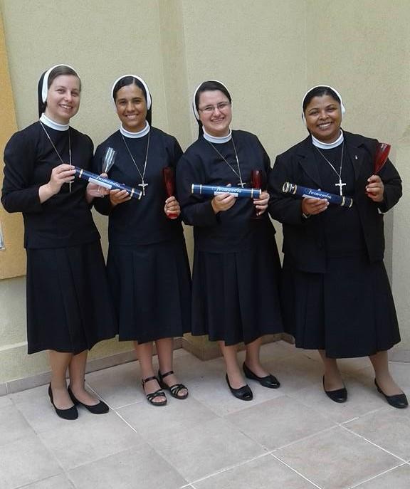 Irmãs concluem o Curso de Teologia