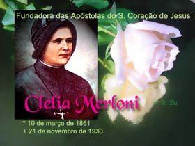 Nascimento de Clélia Merloni é celebrado