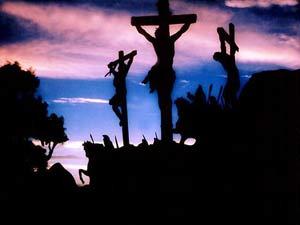 Jesus entrega sua vida por amor