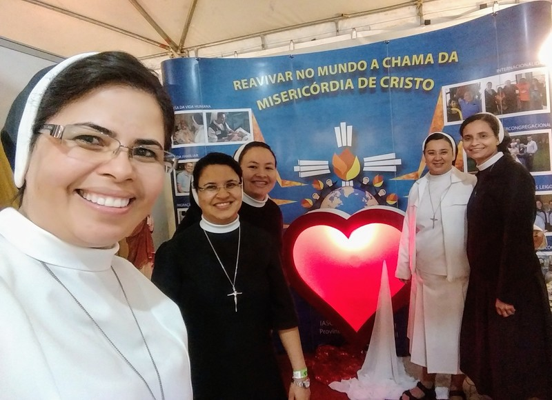Feira Vocacional na Festa da Divina Misericórdia