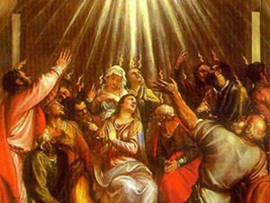 Pentecostes celebra e renova a Vinda do Espírito Santo prometido por Jesus