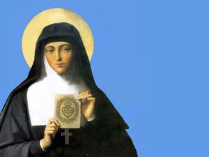 Santa Margarida Maria é celebrada no dia 16 de outubro