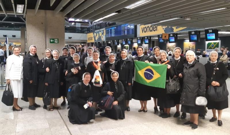Apóstolas da Província do Paraná participarão da Beatificação de Madre Clélia Merloni, em Roma - Itália