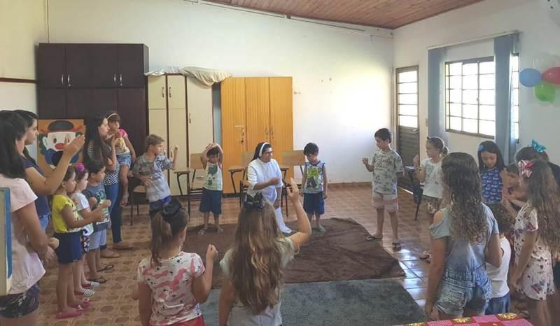 Infância Missionária retoma as Atividades