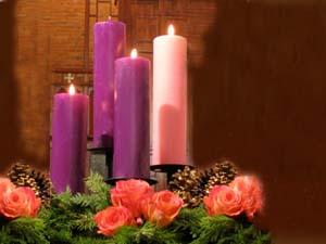 Acende-se a terceira vela do Advento