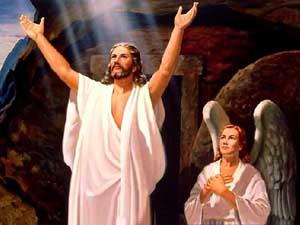 Anjos anunciam que Cristo está vivo
