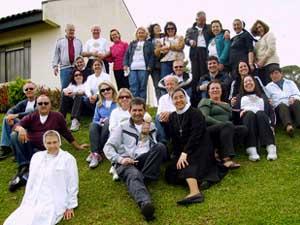GFASC realiza peregrinação ao Mosteiro do Encontro