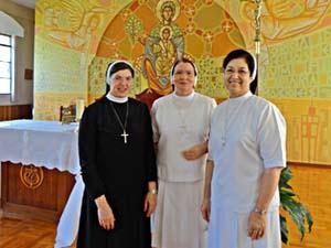 Irmãs Apóstolas retornam a Londrina