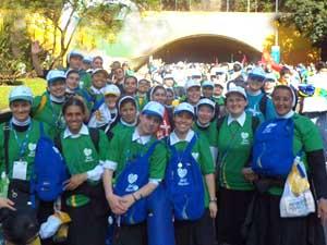 Irmãs Apóstolas e formandas participam da Jornada Mundial da Juventude Rio 2013